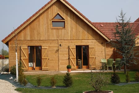 Charme du chalet en bois entre Etretat et Honfleur - Épretot - Σπίτι