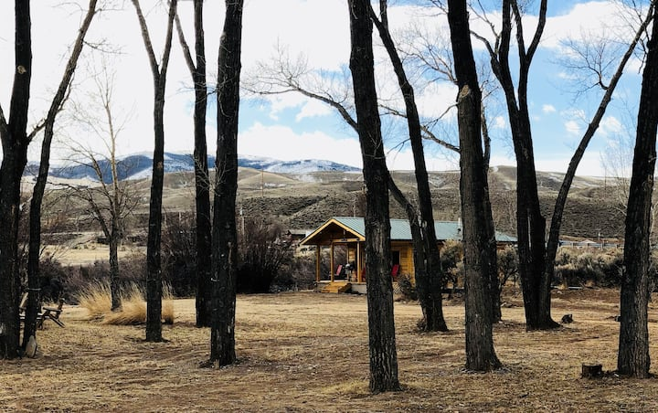 Cabin on the Wind River- sledders welcome!