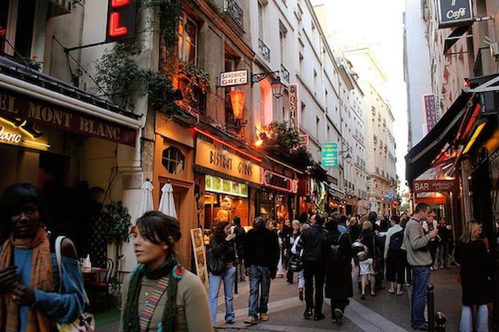 Latin quart, HUCHETTE pedestrian St - 巴黎 - 公寓