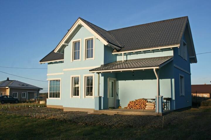 Светлый дом, в стиле «Скандинавия»