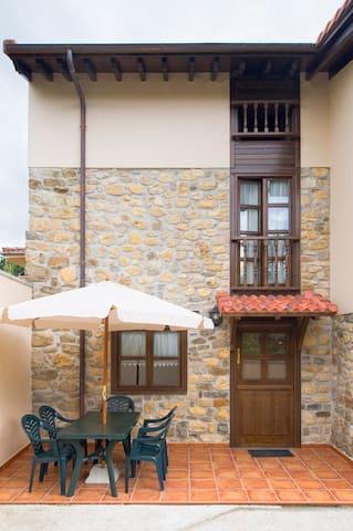 Casa de Aldea. Larrionda 3 - Villar de Huergo - Huis