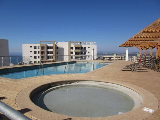 Depto Mediterrano  con estacionamiento