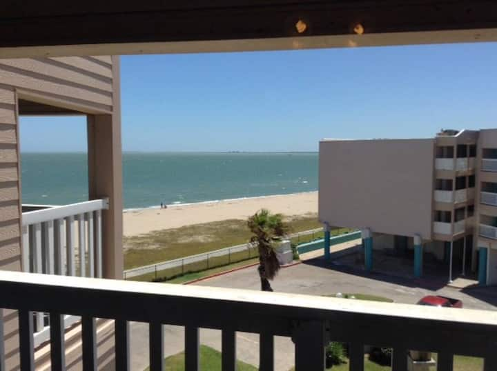 Beautiful  Ocean View Condo ~steps from beach