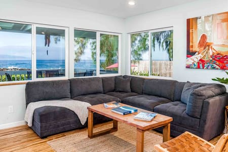 Ocean Front Beach House, Perfect for families