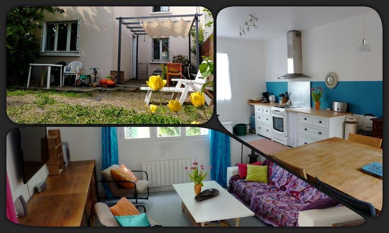 Chambre dans maison avec jardin - Villejuif
