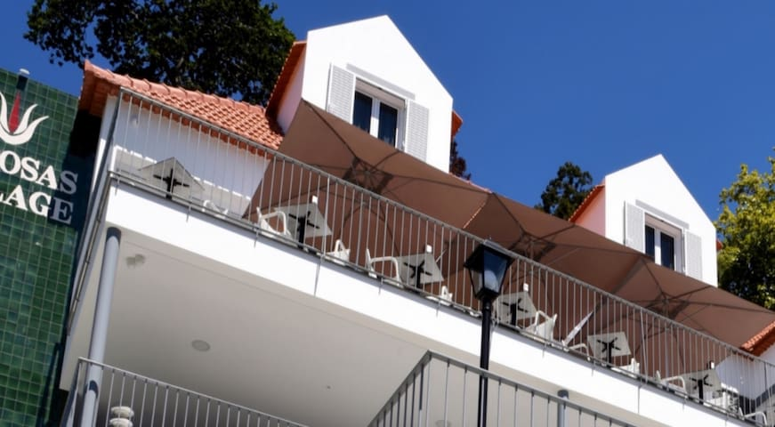 1-bed Loft Superior Suite in beautiful character Babosas Village Apartments