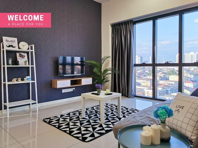 5-6Pax cozy suite Icon City @ Petaling Jaya&Sunway