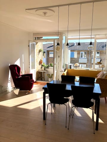 Copenhagen home with a green view