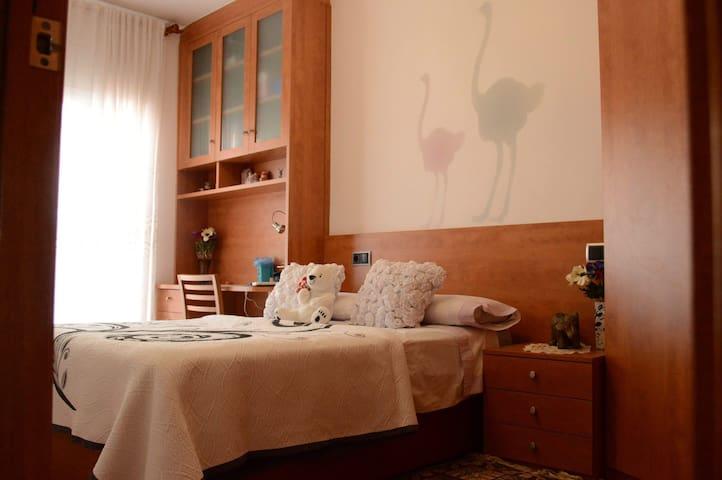 Habitación confortable y tranquila