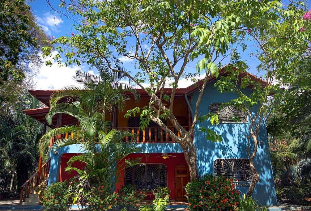 Casa Pelicano from the street