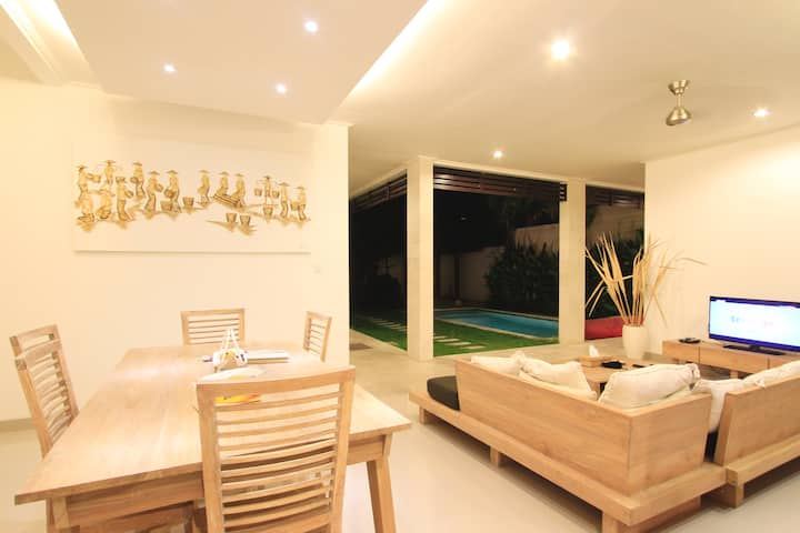 Bellafonte Private 2BR Villa+Pool&Gazebo @Seminyak