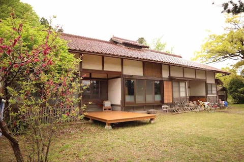 Private House! Old House Stay with Large Garden ~ BBQ and Self-Cooking OK