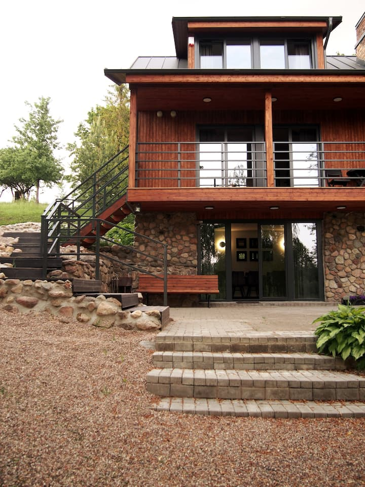 LUGNE HOUSE - relaxing place near the lake