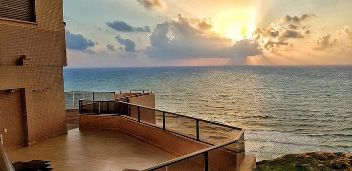 luxury home, Netanya, On the sea shore