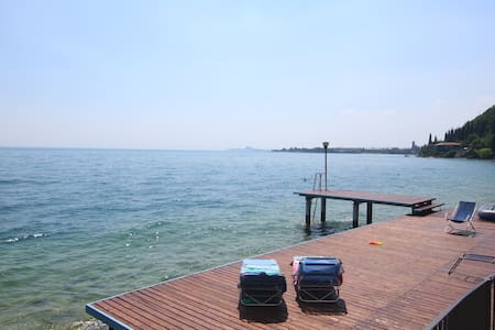 Rosso apartment directly on the lake - Toscolano Maderno - 公寓