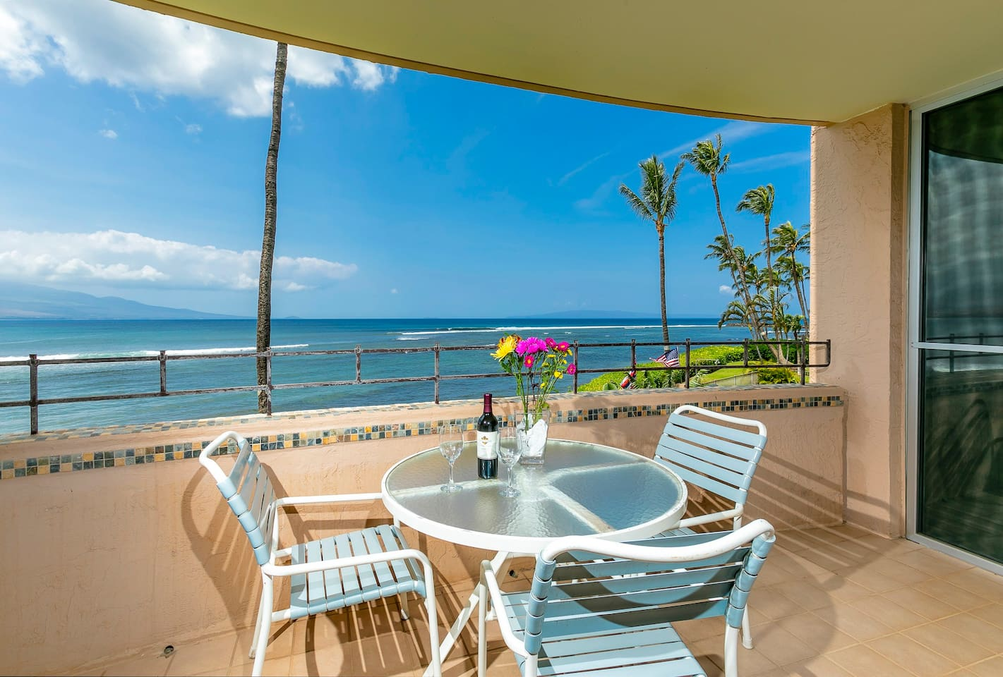 View from lanai/balcony Island Sands 206
