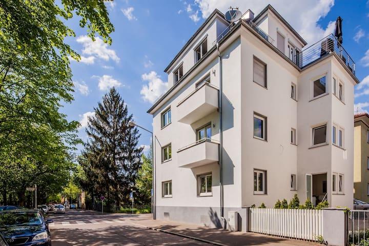 Moderne große Ferienwohnungen nahe der Altstadt