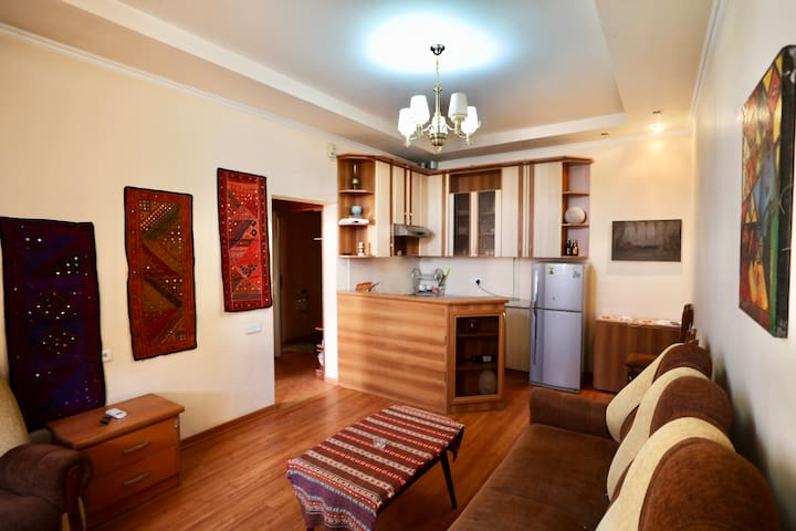 Artsy apartment in the heart of Yerevan.