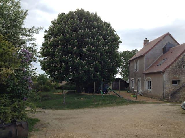 1850 Farm House on  Dairy Farm in Loire Valley