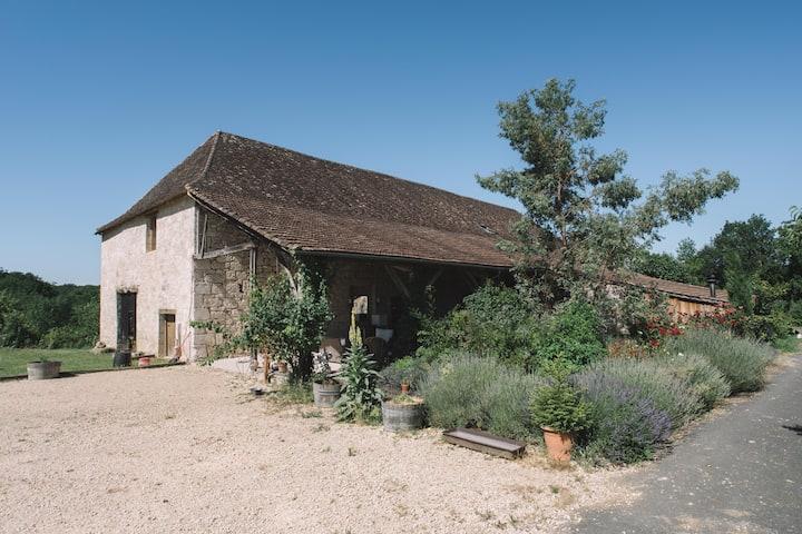 Domaine de Cugnac, chambre avec bain