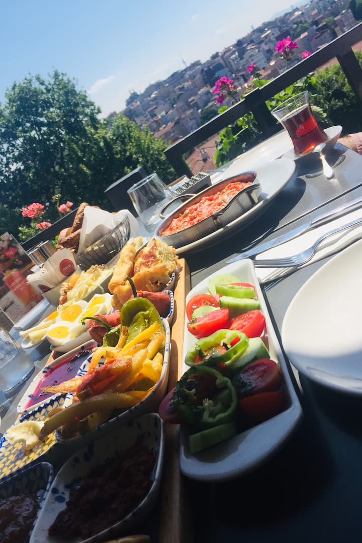 Amazing breakfast with best view!