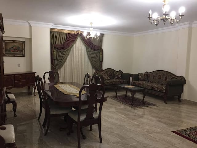 New entire apartment in the Center of new Cairo.