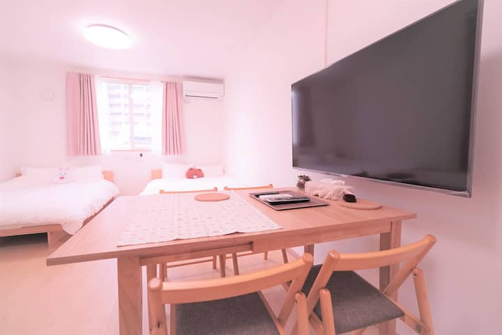 ☆Brand New ☆up to 5 people ☆2 mins from Metro ST