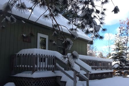 Cozy Cottage on Bear Creek - Kaleva - Ház