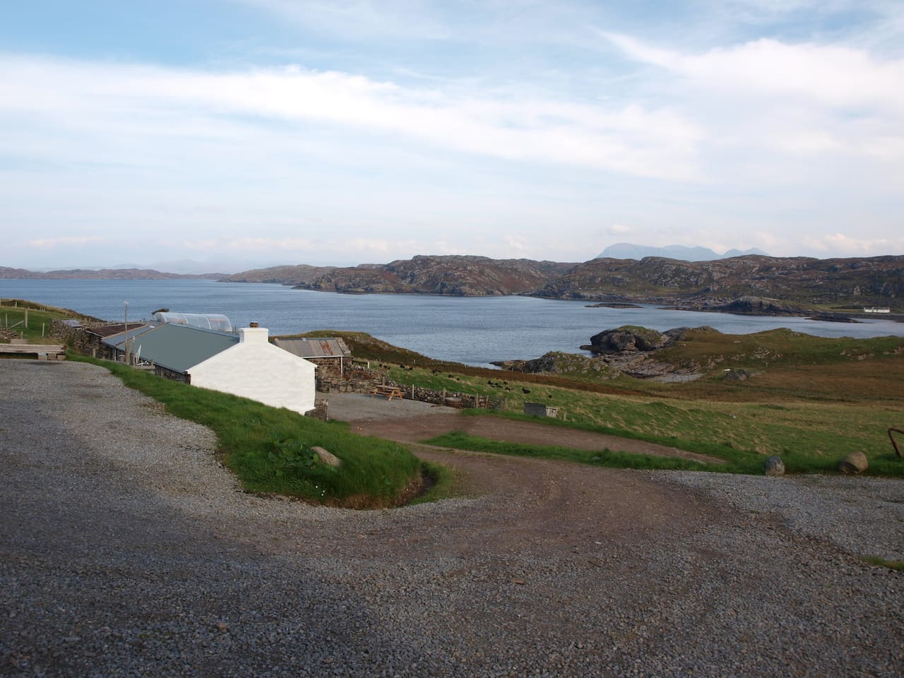 The Bothy, Laid Croft and Clashnessie Bay