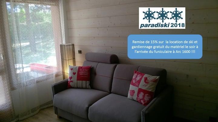 StudioRénové-Wifi-Parking-4p-prox Funiculaire Gare