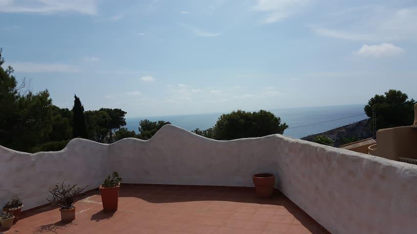 Casa Mumu - appt vue mer avec jardin et piscine