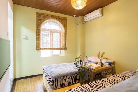 【暖居榻榻米双床】曾厝安的伴山别墅、悠闲居家的大院子和自助厨房 - Xiamen Shi - Villa
