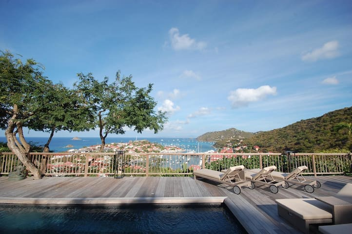 Short Walk to Gustavia's Restaurants and Shopping Area, 45 Feet Pool, Breakfast Included