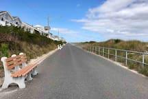 1.5 mile Promenade along Beach