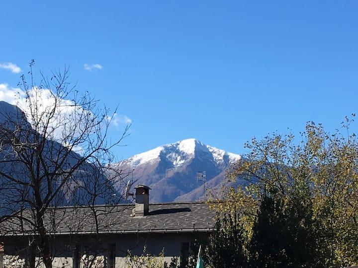 Appartamento in Val D'Ossola ai piedi delle alpi