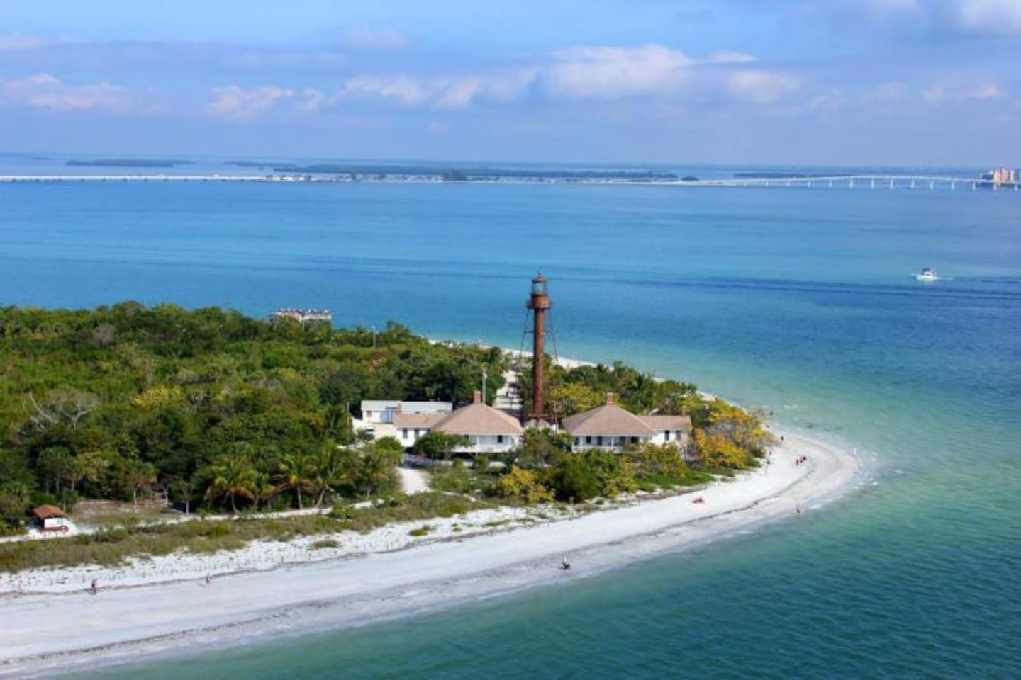 The Sanibel Island Light or Point Ybel Light was one of the first lighthouses on Florida's Gulf coast north of Key West and the Dry Tortugas