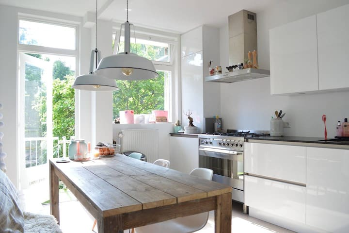 Beautifully decorated Amsterdam South apartment