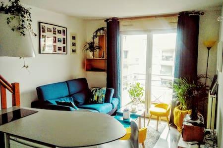 T1 bis en duplex cocooning, parking et balcon - Toulouse