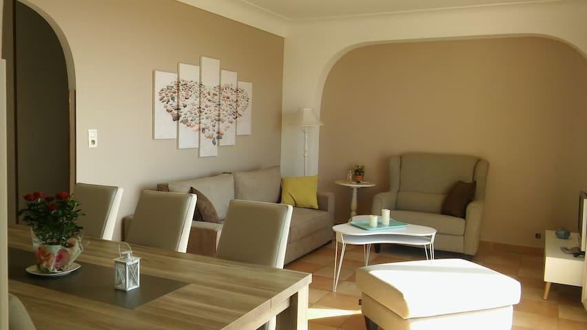Grand Appartement vue mer et montagne - Bastia