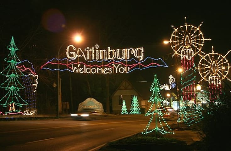 Make sure to check out the winter time light display its amazing