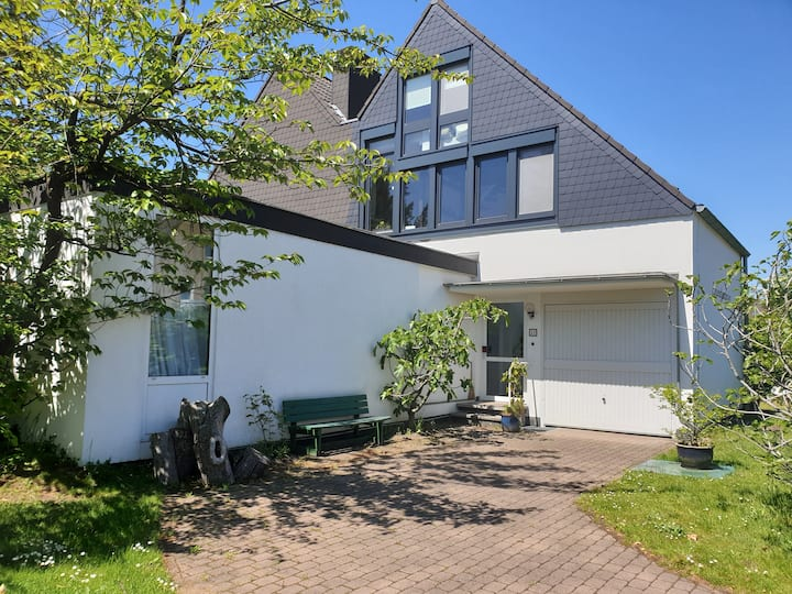Cosy and quiet house near tradefair for 9 people