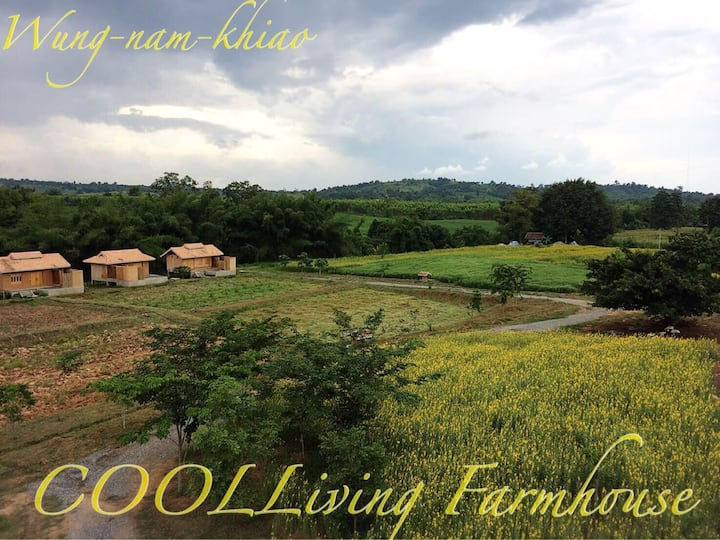 Wangnamkhiao Organic Farm Pond villa 70sqm+outdoor