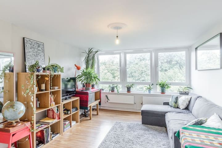 Lovely bright double room in Crystal Palace