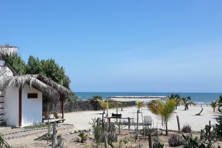 Casa de playa AMELANI en Huacura
