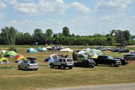 Camping for Rockfest - Papineauville