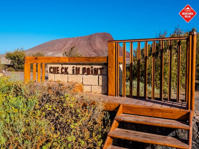 Camping Reserva Natural Montaña Roja