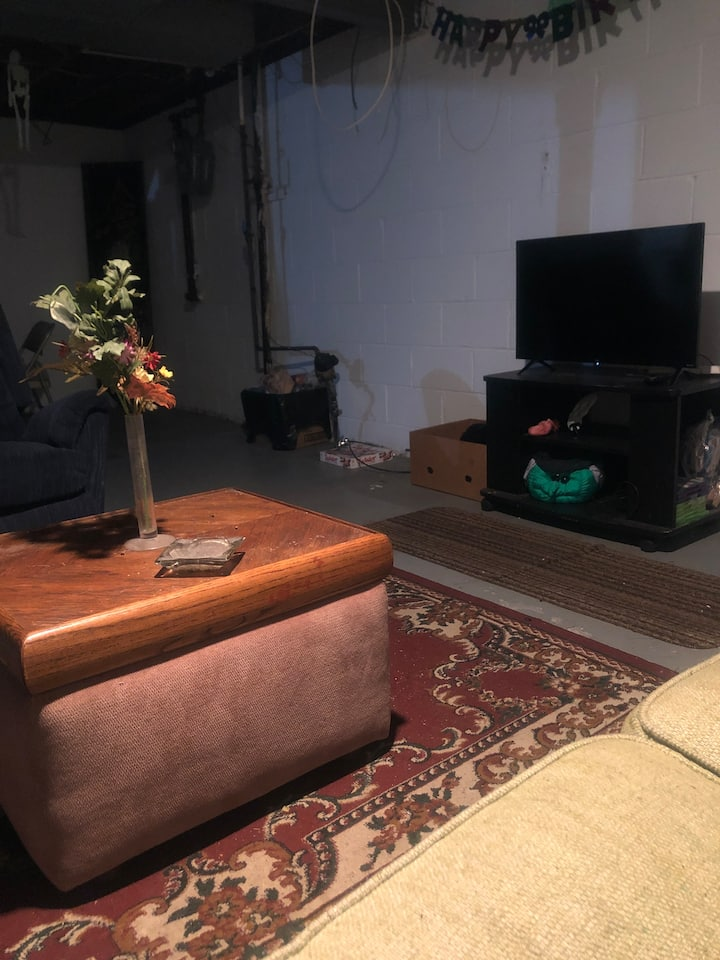 Basement/Apartment Setting