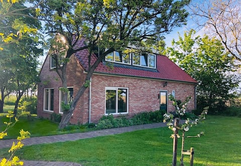 10 pers. Ferienhaus auf einem Bauernhof auf Texel