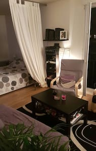 Studio cosy très calme avec balcon - La Garenne-Colombes