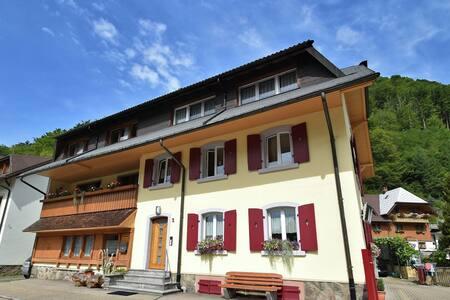 Apartamento tranquilo en Geschwend con terraza privada